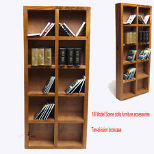 """1/6 Scale 5 Layers Book Case Bookshelf Scenery DIY Accessories for 12"""" Figures"""