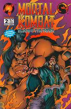 Blood & Thunder #1 - Mortal Kombat - 1994 (High Grade)