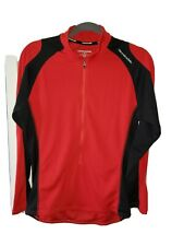 Cannondale Mens Cycling Shirt Jersey Red Large