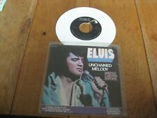 Elvis Presley(white vinyl).A.Unchained melody.B.Softly as i leave you.   (511)