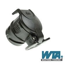 13 pin a pin 7 adaptador de conversión para la iluminación del remolque y caravana