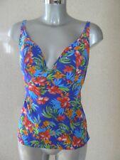 FREYA Floral Tankini Top Swim Top Size 32FF NEW TAGS
