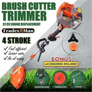 4 STROKE Whipper Snipper, Troy Bilt Straight Shaft Line Trimmer 41ADT57C363