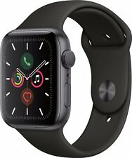 Apple MWWQ2LL/A Watch Series 5gps 40mm Space Gray Aluminum With Black