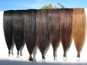 """Horse TAIL Extension New 1/2lb 36"""" by KATHYS TAILS Choice of color. Free Bag"""