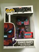FUNKO POP! VENOMISED MAGNETO - NYCC 2020 FALL CONVENTION LIMITED EDITION - VENOM