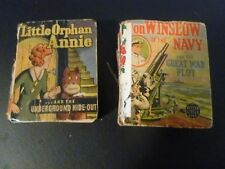 'Don Winslow of the Navy' AND 'Little Orphan Annie and the underground hide-out'