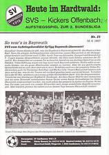 AR  II. BL 86/87  SV Sandhausen - Kickers Offenbach, 18.06.1987