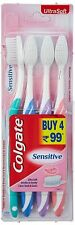 8 Colgate Sensitive Toothbrush Toothbrushes ultrasoft bristles 2 x Pack of 4= 8