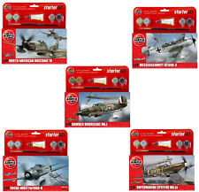 Hornby Airfix Classic World War Aircrafts Starter 1:72 Scale Model Puzzle Kits