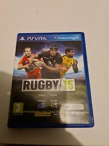 Jeu Psvita Rugby 15