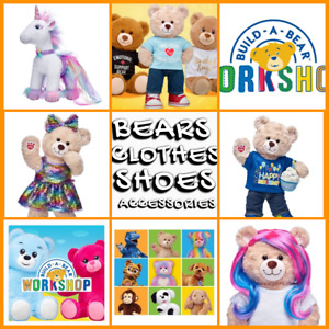 BUILD A BEAR WORKSHOP BEAR FACTORY CLOTHES OUTFITS BOOTS SHOES ACCESSORIES ETC
