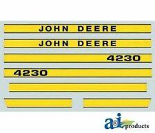 Jd4230 John Deere Tractor Model 4230 Hood Decal Set