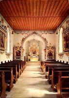 Kirchen Motiv-AK Innenansicht Kirche Friedhofskapelle in St. Blasien Schwarzwald