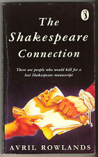 AVRIL ROWLANDS - THE SHAKESPEARE CONNECTION PUFFIN P/B