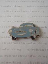 2011 Disney Pixar Cars 2 FINN McMISSILE Blue Spy Car Character Pin