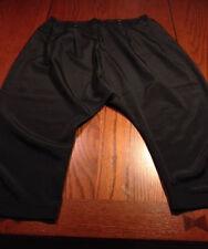 NEW HAZEL Small Sexy Black Harem $117 MC Hammer Capri-Style Cropped Pants NICE!!