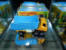 Matchbox Lesney Superfast 50 Articulated Truck 1972 England Mint in Box