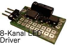 LAUFLICHT 8 KANAL LED Kirmes Microcontroller Platine Konfigurierbar