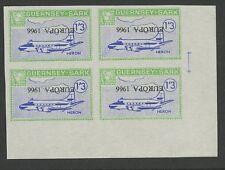 Guernsey SARK 1966 Europa Heron plane INVERT PROOF 1/3 unissued blk 4