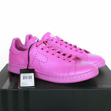 RAF SIMONS x ADIDAS $500 stan smith sneakers flash pink trainers shoes 8-US NEW