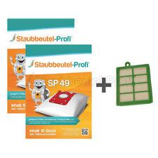 10-30 Staubbeutel Hepa Filter passend für Philips EasyLife FC 8136 Staubtüten