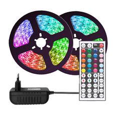 RGB LED Streifen Stripe Lichterkette Licht-Leiste Farbwechsel 5050 +Controller