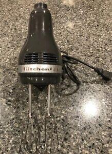 Kitchenaid Electric Handheld Mixer 5 Speed Grey