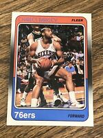 Vintage 1988 Fleer #85 CHARLES BARKLEY 76ers Suns Rockets SF NBA HOF RARE NM/Mt