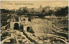 Primi anni 1900 Firenze - Fiesole e gli Avanzi del Teatro Romano - FP B/N