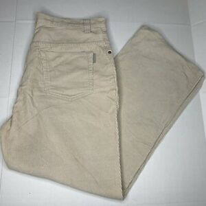 Vintage Anchor Blue Corduroy Easy Fit Pants 34x30 Baggy Fit.