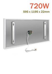 KIASA - 720W Far Infrared Electric Heating Panel - Wall or Ceiling Heater - IP65