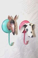 2 Pc. Iron Wall Hook New Handcrafted Animal Shape Home Decor Collectible PT-53