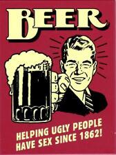 Beer Bier Kühlschrankmagnet Fridge Refrigerator Magnet 6 x 8 cm