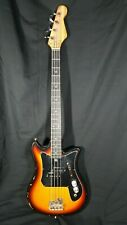 Vintage TEISCO Bass Electric Guitar