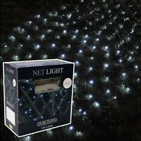 105 LED OUTDOOR SOLAR POWER NET BLANKET CHRISTMAS TREE FAIRY LIGHTS SLNET1
