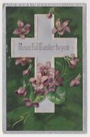 Rocky Hill NJ to Newark New Jersey Finkenrath PFB Easter Greetings Postcard A37