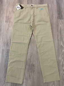 NEW NWT Oakley Khaki Thermonuclear Protection Pants Trousers Size 36x32