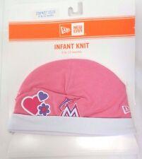best service a3ce0 f47ec Miami Marlins Infant New Era 6-12 Months Knit Cap Hat