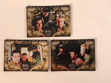 "BUFFY THE VAMPIRE SLAYER ""BIG BADS"" 2004 Complete TRIPLE THREAT Chase Card Set"