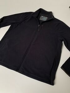 Marks And Spencer Mens Fleece Navy Medium Zip Up
