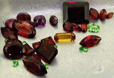 Mixed Garnets 30.27ct natural loose gemstones