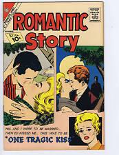 Romantic Story #58 Charlton Pub 1961
