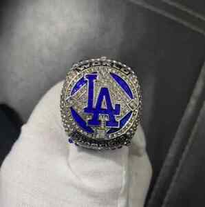 2020 Los Angeles Dodgers SEAGER #5 & BETTS #50 World Championship Ring