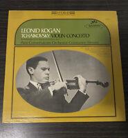 LEONID KOGAN Violin Concerto Tchaikovsky Silvestri SERAPHIM EX vinyl LP