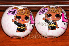 NEW Glitter Series LOL Surprise DOLL 7 Layers L.O.L Big Sisters 2 White BALLS