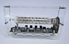 ASSEMBLED nixie clock with enclosure Ice tube clock IV-18 VFD horloge rohre in