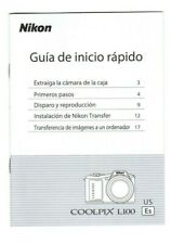 Nikon Coolpix L100 Quick Start Guide in Spanish (20 pages, 2009)
