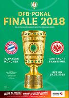 DFB-Pokalfinale 19.05.2018 FC Bayern München - Eintracht Frankfurt in Berlin