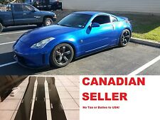 350z Side skirts / Side splitters Gloss Black 2003 - 2008